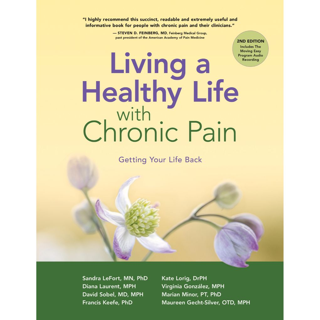 Living a Healthy Live with Chronic Pain - cover